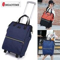 Large Capacity Oxford Cloth Waterproof Maletas De Viaje Con Ruedas Envio Suitcases Luggage Set Rolling Travel Bag Fixed Casters
