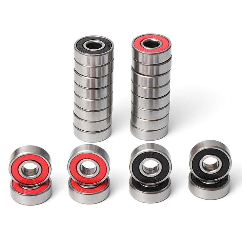10Pcs <font><b>608</b></font> <font><b>2RS</b></font> Ball Bearing <font><b>ABEC</b></font>-7 <font><b>ABEC</b></font>-<font><b>9</b></font> 8X22X7 mm Deep Groove Steel Sealed Ball Bearings 608RS Z3V3 <font><b>608</b></font>-<font><b>2RS</b></font> 608rs Bearing Hot image