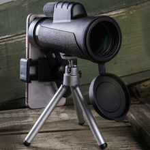 Monocular Night Vision 12X50 High Quality Telescope Support Cell Phone Professional Magnification Eyepiece Handheld Hunting