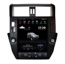 12,1 pulgadas estilo Tesla coche NO reproductor de DVD GPS Navi para Toyota Land Cruiser Prado 150 2010-2013 Autoradio multimedia Headunit ISP(China)