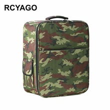 RCYAGO 2017 Put on-Resistant Camouflage Drone Bag Nylon Backpack For DJI Phantom three Collection Drone Quadcopter