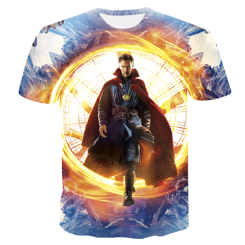 New 2018 superhero marvel captain  superhero complete set casual chic t shirt man 3d printed short sleeve s-4xl 3d t shirt homme