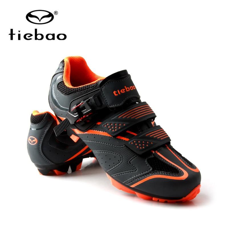 Tiebao chaussures de cyclisme sapatilha ciclismo vtt hommes baskets femmes VTT chaussures auto-bloquantes superstar chaussures de vélo d'origine - 2