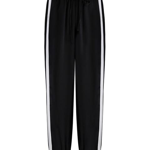 2019 Spring Sweatpants female fashion Harem Pants Loose Trousers For Women Black Striped Side Sweat Pants Female Plus Size S-3XL Islamabad