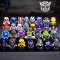 30pcs/set Mini Robots Figure Set OptimusPrime BumbleBee Galvatron Thrilling 30 Anniversary Edition Home/Car Decoration Toy Model