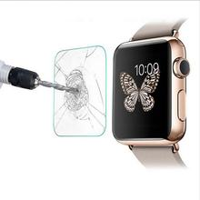 Professional Ultra Thin Protective Film Smude-Resistant Shatter-proof Tempered Glass Suitable For Apple Watch(China)