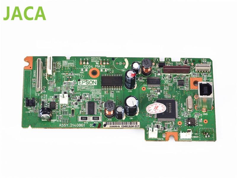 Original Main board Mother Board Formatter Board For Epson L100 L210 L455 L555 L220 L200 L300 L800 L565 printer original new print head for epson l120 l210 l220 l300 l335 l350 l355 l365 l381 l455 l550 l555 l551 xp300 xp400 xp405 printhead