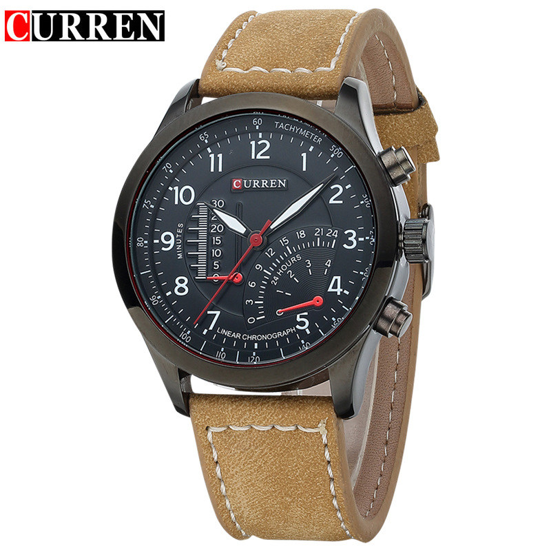 Mens Watches Top Brand Luxury Men's Quartz Watch Waterproof Sport Military Watches Men Leather relogio masculino CURREN 8152 classic simple star women watch men top famous luxury brand quartz watch leather student watches for loves relogio feminino