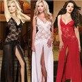 Plus Size Sexy Camisola Das Mulheres DancingDress T-Back M, L, XL Conjunto Lingerie Sexy Erótico Pijamas mulheres Sexy Lingerie Vestido