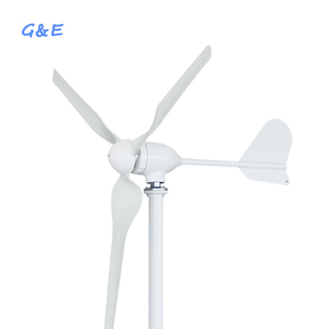 12v 24v 48v optional 600w horizontal axis wind generator with waterproof wind charge controller(China)