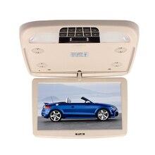 Бежевый 12 Дюймов Сальто Вниз TFT LCD Монитор С MP5 Player Автомобильный Потолочный Мониторы MP5 Игрок