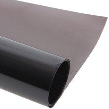 AuMoHall-película opaca para ventana de 0,75x30m, color negro, rollo de 25%, 1 capa, para uso doméstico, comercial, UV + aislamiento, para ventana lateral de coche