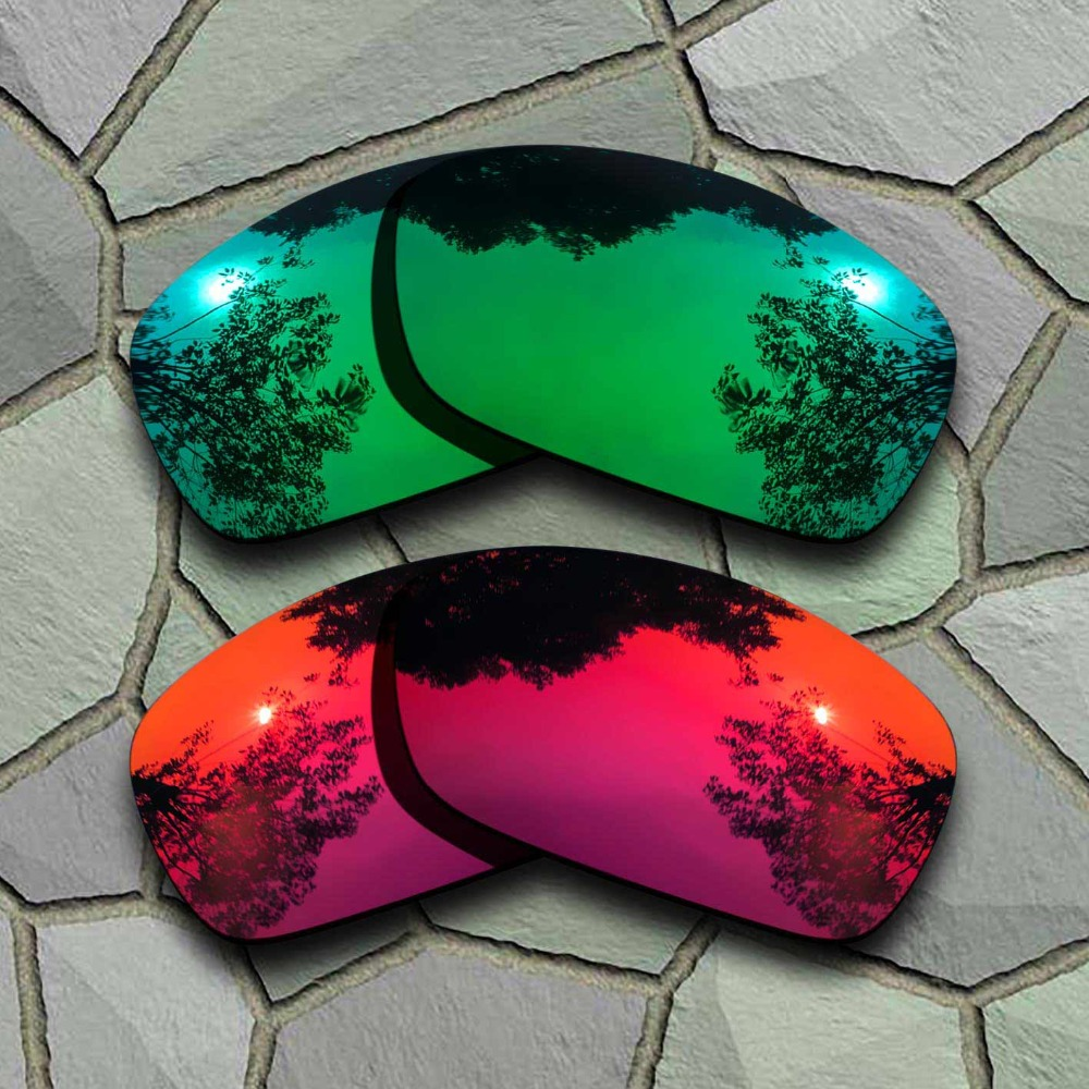 Eyewear Accessories Jade Green&violet Red Sunglasses Polarized Replacement Lenses For Hijinx Distinctive For Its Traditional Properties