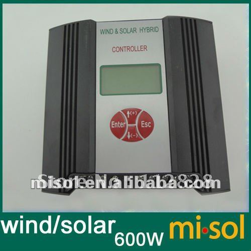 Hybrid Wind Solar Charge Controller 600W Regulator, RS Communication and Matched Software, LOW Voltage Charge Function,24V code red boxed rtf