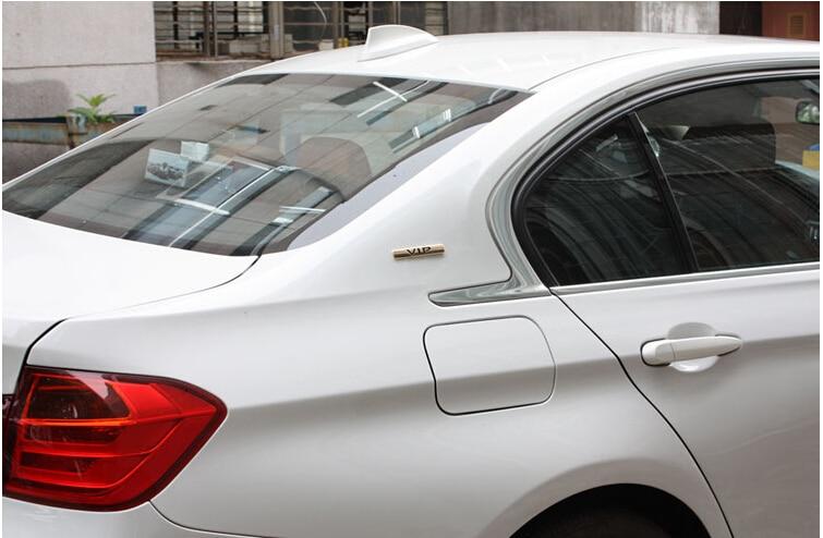 Omotavanje VIP 3D metalni luksuzni automobil auto bočna vrata C stup - Vanjska auto oprema - Foto 4