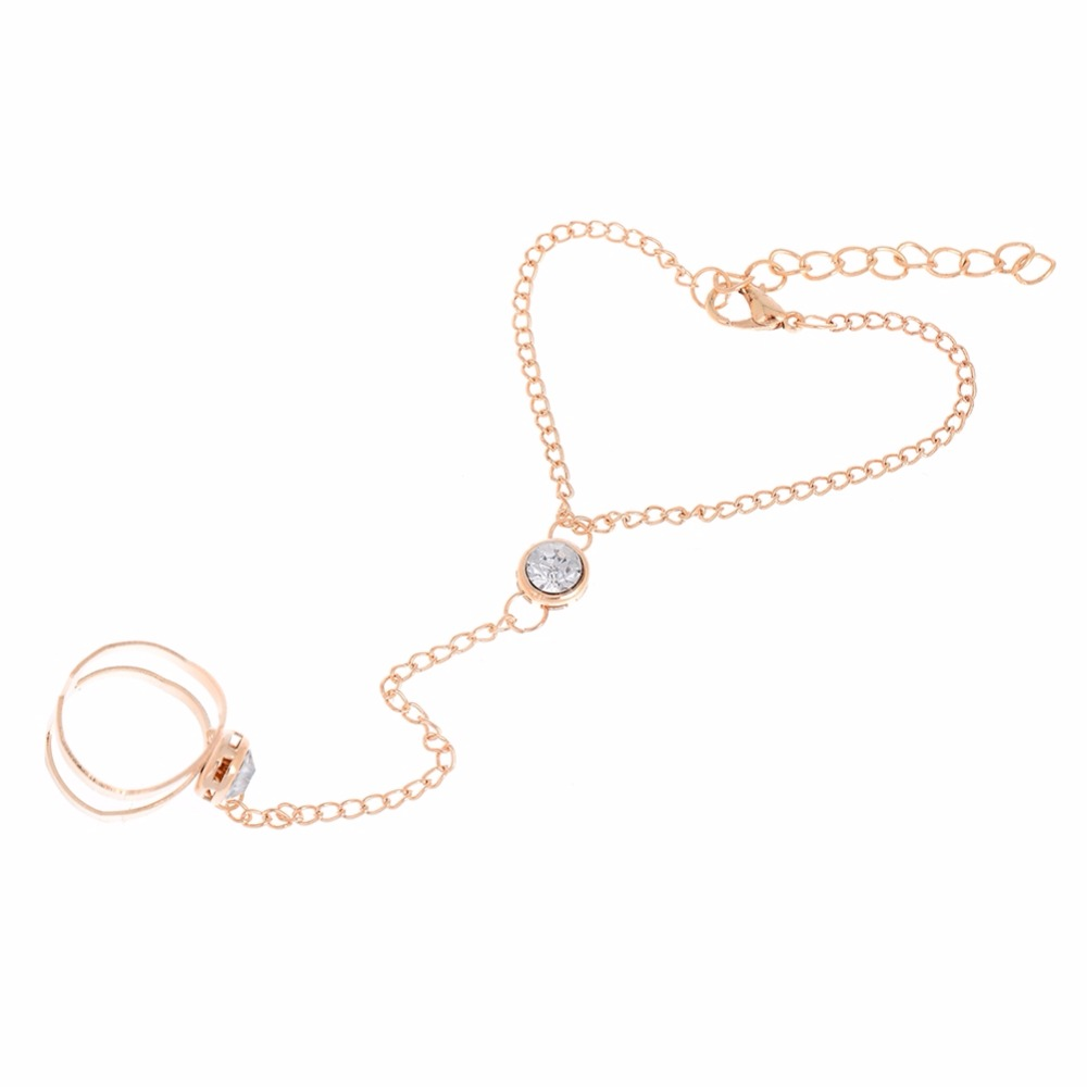 Bracelet with Ring Attached