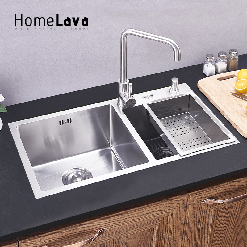 304# Stainless Steel Kitchen Sink faucet kitchen accessories 82*45 ...