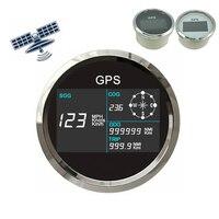 12V/24V Universal GPS Speedometer Gauge Odometer 0~299 MPH Kmh Motorcycle Multi meter Gauge for Car Truck Boat Motor