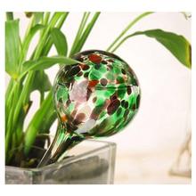 цена на 1Pc 100ml Glass Self Automatic Waterer Drip Irrigation Ball Lazy Watering Device Bulbs Globes Plant Flowers Bonsai for Garden