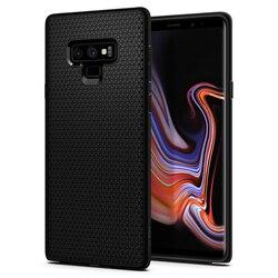 100% Original SPIGEN 9 Ar Líquido Preto Fosco Case para Samsung Galaxy Note