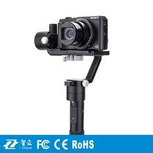 F19238 Zhiyun Кран М 3 оси Ручной Gimbal Стабилизатор для DSLR Камеры Поддержка 650 г Смартфон Gopro 3 Xiaoyi Действий камеры