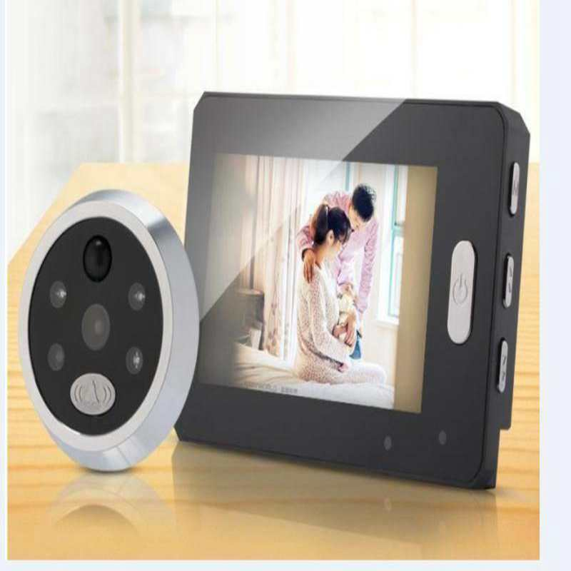 4.3 Smart Door Viewer LED Night Vision Motion Detect Wide Angle Rechargeable Music Doorbell HD Digital Door Peephole Camera4.3 Smart Door Viewer LED Night Vision Motion Detect Wide Angle Rechargeable Music Doorbell HD Digital Door Peephole Camera