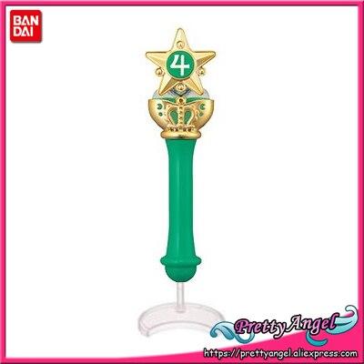 Original Bandai Sailor Moon Crystal 20th Anniversary Gashapon Sailor Moon Wand Charm Part 2 Henshin Rod & Stick - Sailor Jupiter original bandai shokugan sailor moon butterfly ribbon charm key chain sailor moon