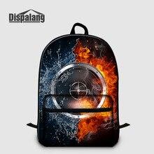 ff364dc59e Dispalang Music Laptop Backpack Large Capacity Kids Backpacks Flame Print  Girls Boys School Bag Air Cushion