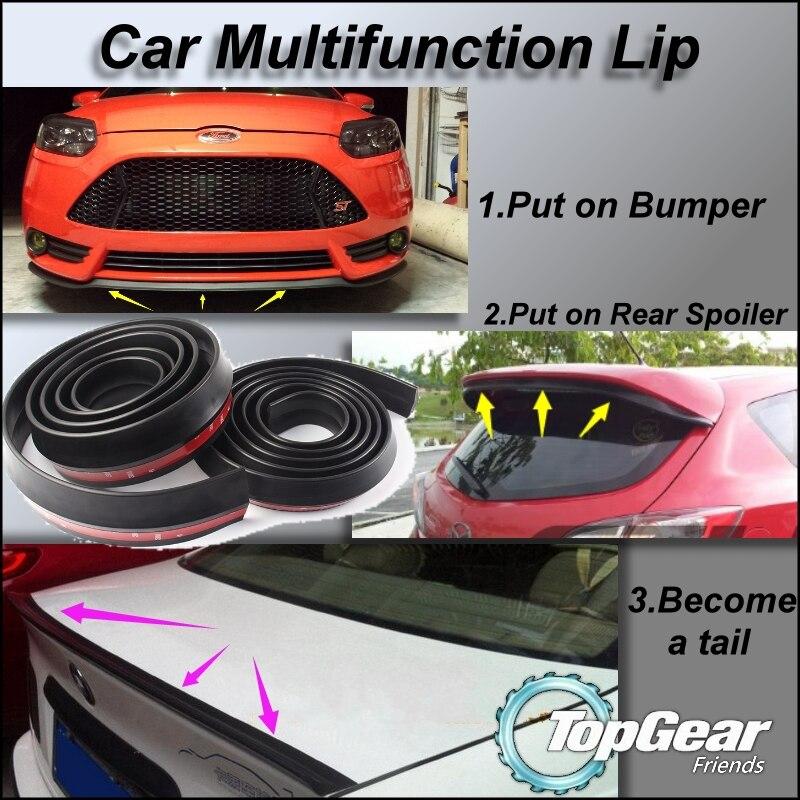 Автомобиль Многофункциональный всех сторон sopiler бампера для губ сплитер отражающая для просмотра настройки/легко DIY Средства ухода за коже