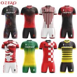 football jersey blue and white soccer uniform custom soccer jersey