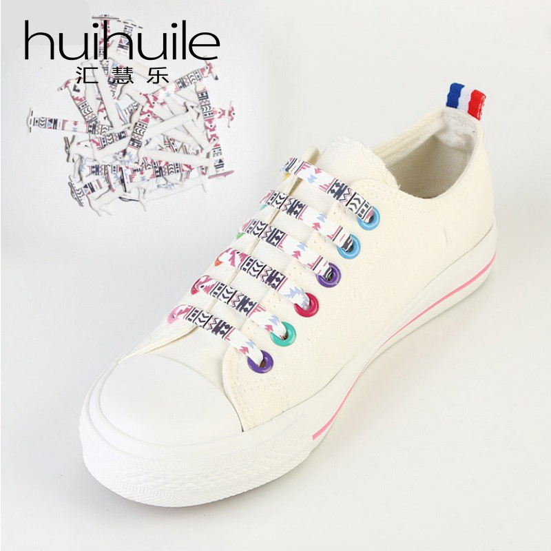 16Pc/Set Hot Sale Flower Type Silicone Lazy No Tie Shoelaces New Design Unisex Shoe Laces Running Sneakers Strings Free Shipping free shipping hot sale lazy man instant sofa