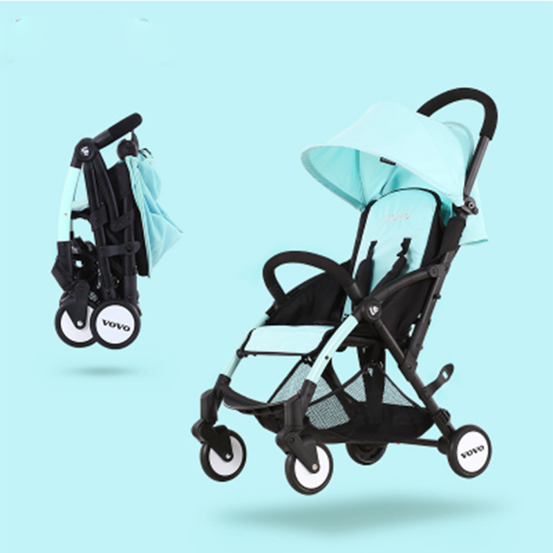 Baby stroller 3 in 1 portable light umbrella folding baby carriage can take a lying cart can be on the plane bebek arabasi