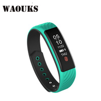 WAOUKS Smart Bluetooth Wristband Loop Cardiotecticular Motion Meter With Bluetooth Hand Loop Sleep Monitoring