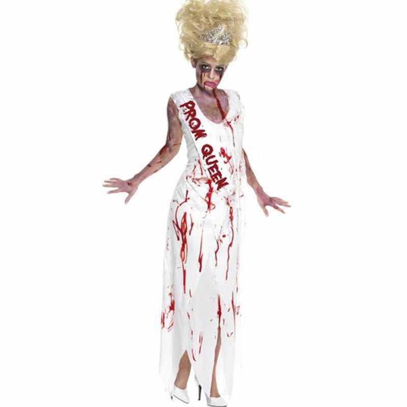cc370bde9385d ManLuYunXiao Cosplay Costume Zombie Nurse Suit Cosplay Scary Uniforms Dress  Halloween Party Masquerade Cosplay Costume For Women-in Holidays Costumes  from ...