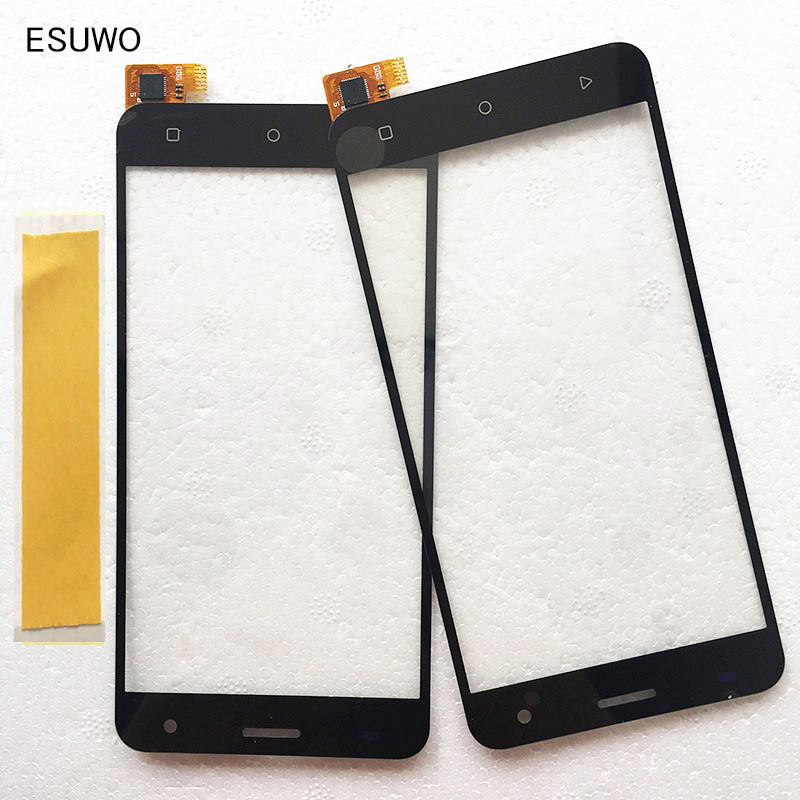 ESUWO New Touchscreen For <font><b>Fly</b></font> FS504 <font><b>FS</b></font> <font><b>504</b></font> Cirrus 2 Sensor Touch Screen Digitizer Front Glass Lens Replacement image