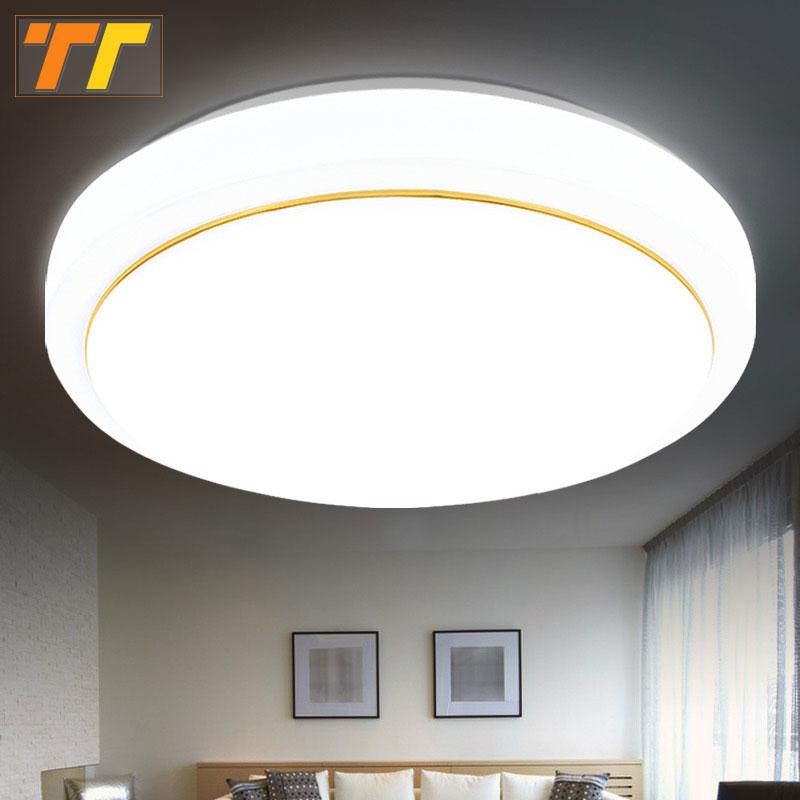 Led ceiling lights dia 220mm high brightness 110v 220v for Led lights for high ceilings