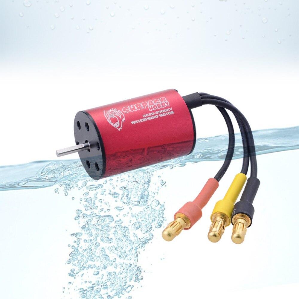 Image 3 - Waterproof  KK 2030 2.0mm 4500KV 6200KV 6500KV 7200KV 2S Brushless Motor for 1:20 1:18 GTR/Lexus RC Drift Racing Car-in Parts & Accessories from Toys & Hobbies