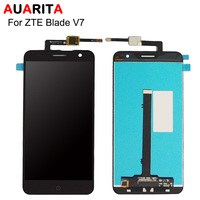 AAA Quality 1pcs Lot LCD For ZTE Blade V7 V 7 LCD Display Touch Panel Screen