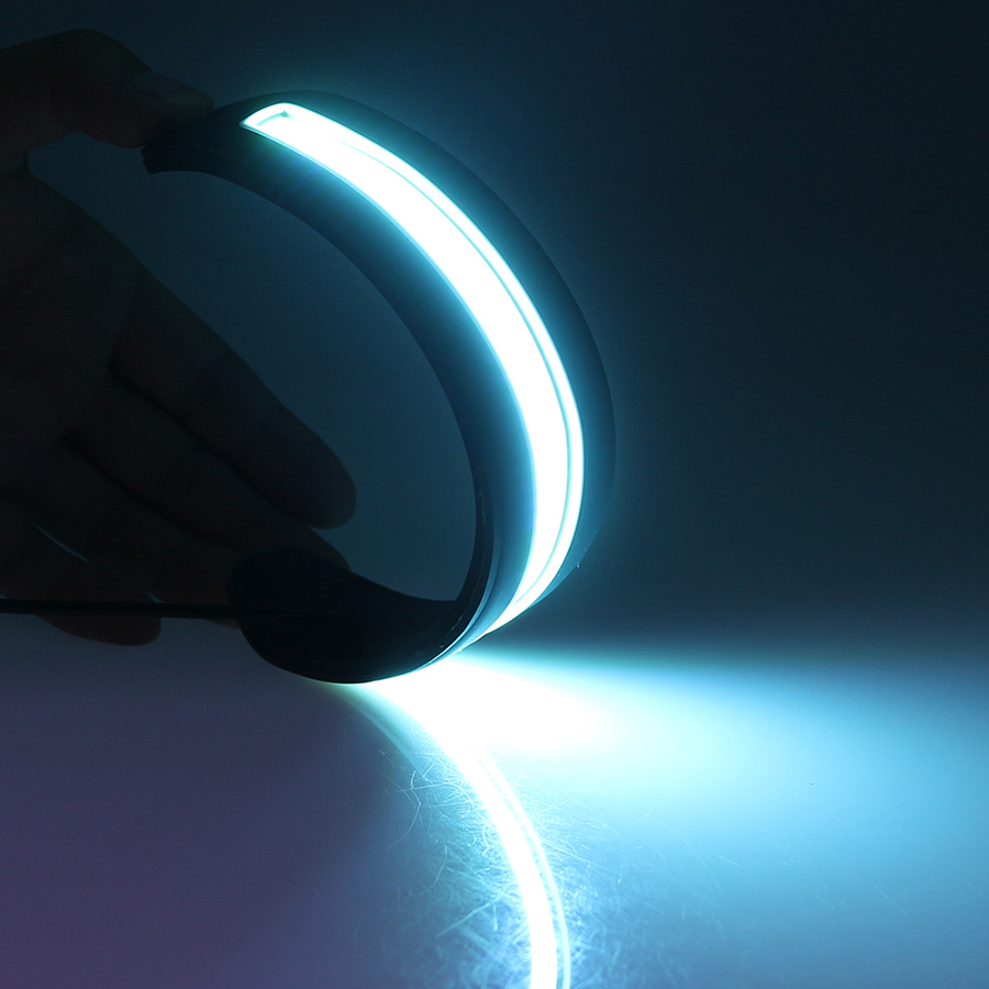2pcs LED dnevne utripalke luči Bendable Car DRL vozni svetilki Life - Avtomobilske luči - Fotografija 5