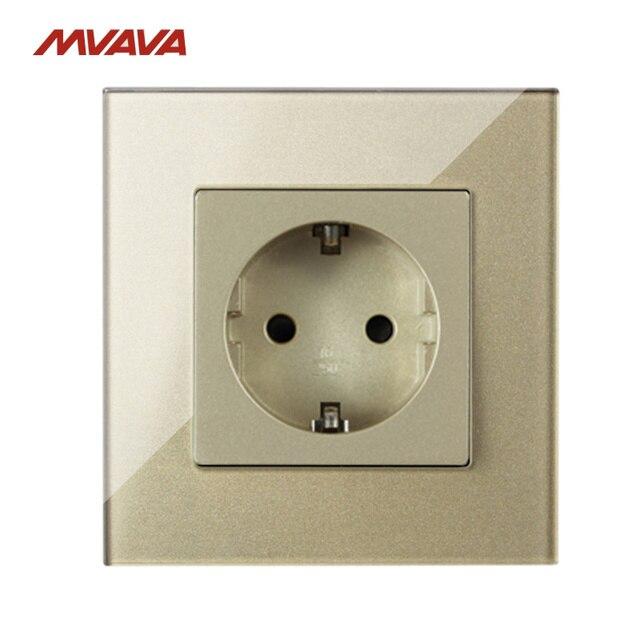 MVAVA 16A Schuko Sockets Wall Receptacle Power Socket Electrical ...