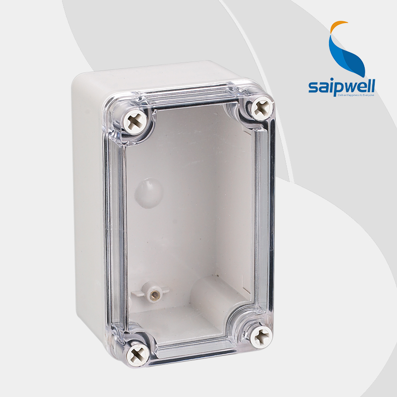 Free Shipping ABS IP65 indoor out door Light Insulation Corrosion Waterproof Clear Cover Waterproof Electrical Junction