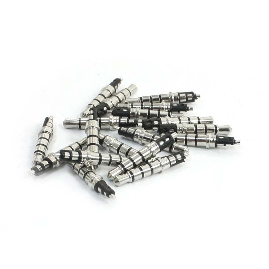 JFBL Hot 20 Pcs 3.5mm 4 Pole Male Soldering Repair Headphone Audio Jack Plug dali zensor 7 black ash