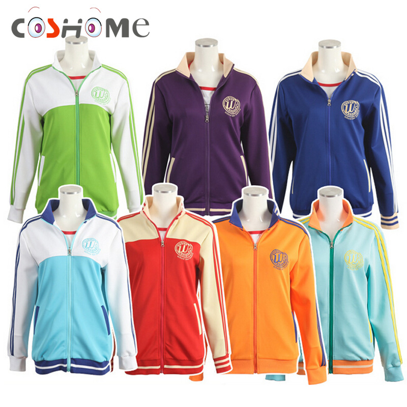 Coshome Love live Lovelive Sunshine Sportswears Cosplay Jacket Costumes Minami Kotori Yazawa Nico School Girls Uniforms Hoodies