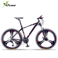 New Brand Carbon Steel Frame Mountain Bike 27 30 Speed Dual Disc Brake 26 Inch Blade