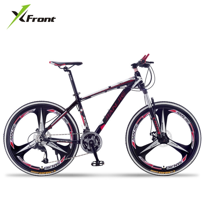 New Brand Carbon Steel Frame Mountain Bike 27/30 Speed Dual Disc Brake 26 inch Blade Wheel Bicycle Outdoor Sports Bicicleta image