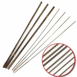 Image 1 - 12 قطع السويسرية انتقل مناشير ل قطع معدنية أدوات أدوات مجوهرات أنصال مناشير 130 ملليمتر طول اليد الحرفية