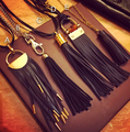 Bohemia Style Women Long Necklaces High Quality Alloy  Leather Tassels Necklaces & Pendants  garment accessories
