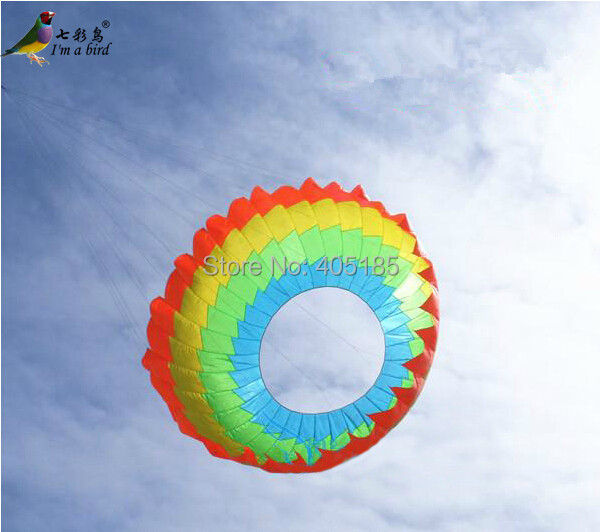 Outdoor Sports 3m Power  Halo Kite /Ring /Very Nice For  Christmas Gift Factory Direct Sale power kite buggying power trike power scooter snow kite buggying