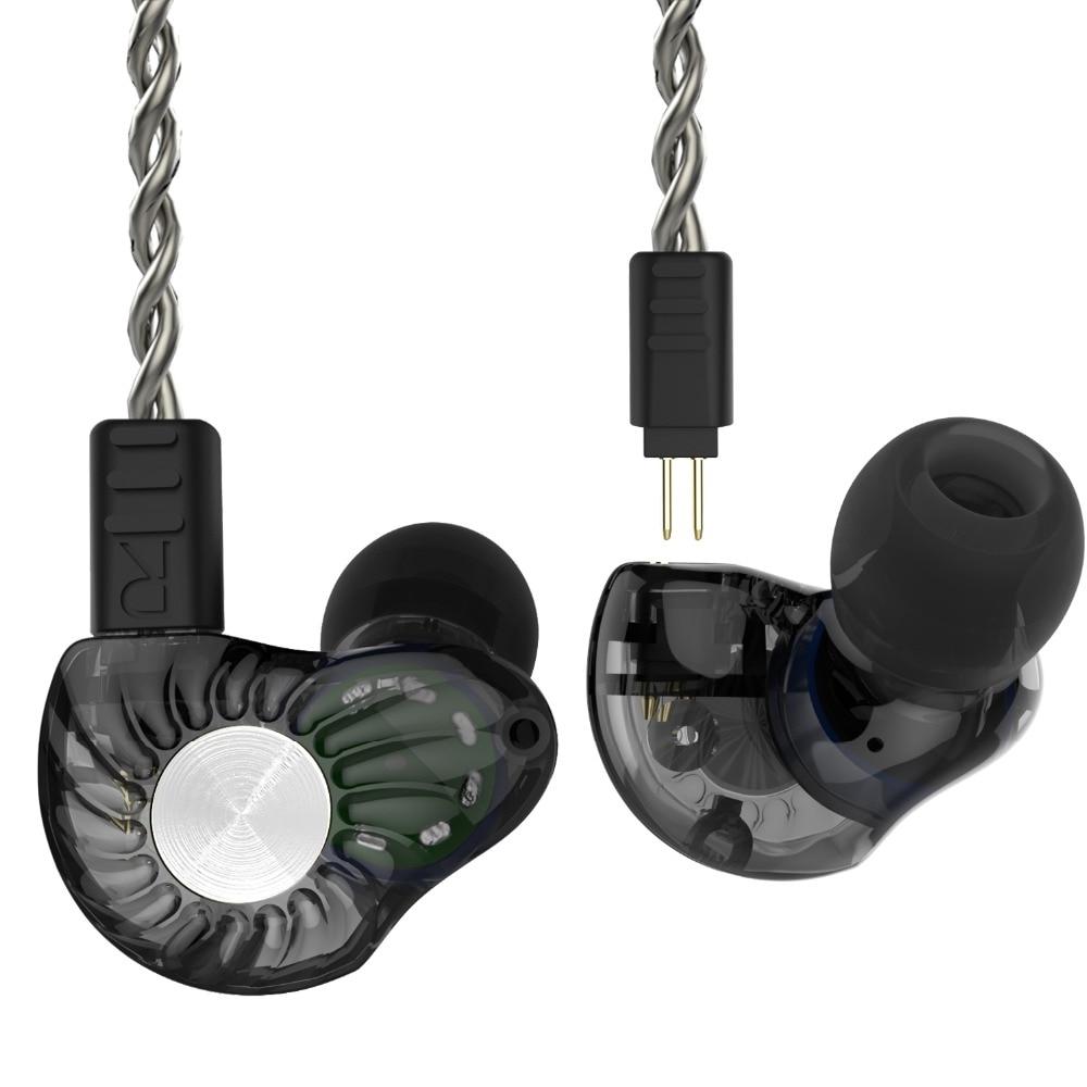 Revonext RX8 1DD+1BA Hybrid In Ear Earphone HIFI DJ Monito Running Sport Earphone Earplug Headset Earbud