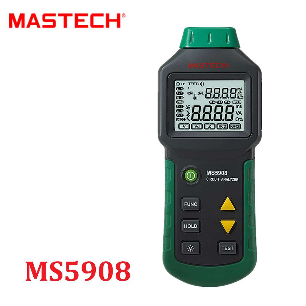 House Circuit Tester : Mastech ms rms circuit analyzer tester compared w